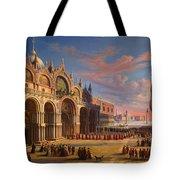 Piazza Di San Marco. Venice Tote Bag