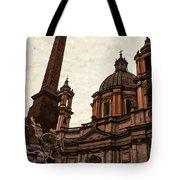 Piazza Navona At Sunset, Rome Tote Bag