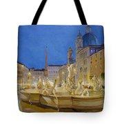 Piazza Navona, Rome Tote Bag