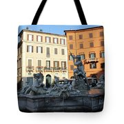 Piazza Navona Rome Tote Bag