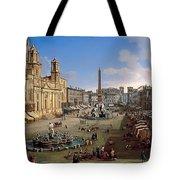 Piazza Novona - Rome Tote Bag