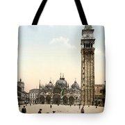 Piazza San Marco, 1890s Tote Bag