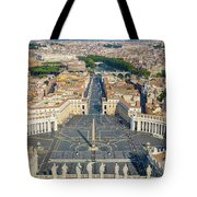 Piazza San Pietro Tote Bag