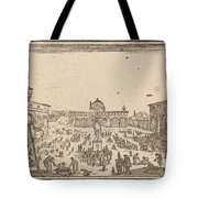 Piazza Ss. Annunziata, Florence Tote Bag