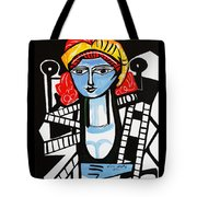 Picasso By Nora  Film Star Tote Bag