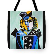 Picasso By Nora  The Queen Tote Bag
