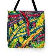 Picasso Paintbrush Croton Tote Bag