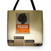 Picasso Poster Tote Bag