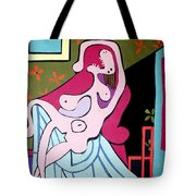 Picasso Seated Woman Tote Bag