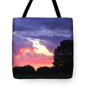 Picasso Sunset Tote Bag