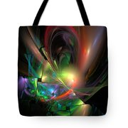 Picassoractal Tote Bag
