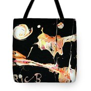 Picassos In Space Tote Bag
