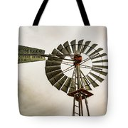 Piceance Basin Windmill Tote Bag
