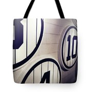 Pick A Number Tote Bag