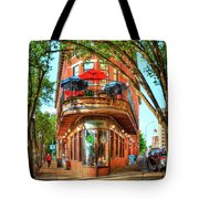 Pickel Barrel 2 Chattanooga Tennessee Cityscape Art Tote Bag