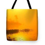 Pickerel Sunrise Tote Bag