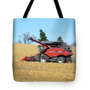 Picking Corn Tote Bag