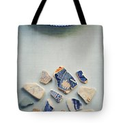 Picking Up The Broken Pieces Tote Bag