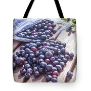 Picking Whortleberries Tote Bag