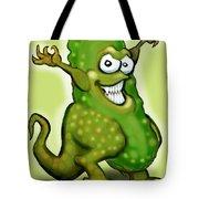 Pickle Monster Tote Bag