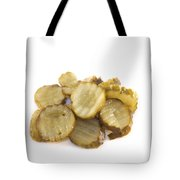 Pickled Cucumber Slices Tote Bag