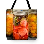 Pickled Veggies Tote Bag