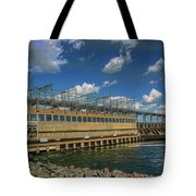 Pickwick Landing Dam Pickwick, Tennessee Tote Bag