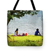 Picnic And Fishing Tote Bag
