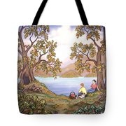 Picnic By A Lake Tote Bag