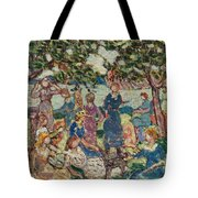 Picnic By The Inlet Tote Bag