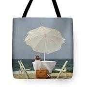 Picnic, California Coast Tote Bag