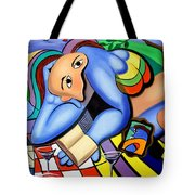 Picnic For One Tote Bag by Anthony Falbo