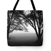 Picnic In The Fog Tote Bag