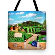 Picnic In Tuscany Tote Bag
