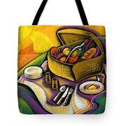 Picnic Tote Bag by Leon Zernitsky
