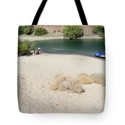 Picnic On Lake Mohave Tote Bag