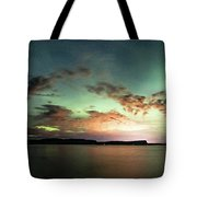Picnic Point Aurora 180 Degree Pano, May 28, 2017 Tote Bag
