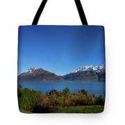 Picnic Table With A View Tote Bag