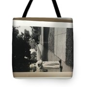 Picture Of Boy With Camera Tote Bag