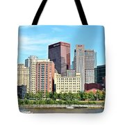 Picture Perfect Pittsburgh Panoramic Tote Bag