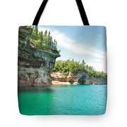Pictured Rocks Tote Bag