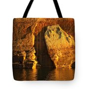 Pictured Rocks Mitten Tote Bag