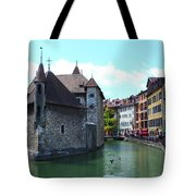 Picturesque Annecy, France Tote Bag