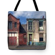 Picturesque Derelict Houses In Hull England Tote Bag