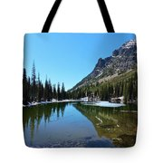 Picturesque Lake Tote Bag