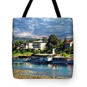Picturesque River Cruise Tote Bag