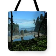 Picturesque Ruby Beach View Tote Bag