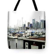 Picturesque Vancouver Harbor Tote Bag