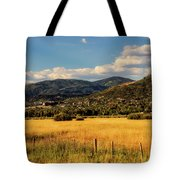 Picturesque View Of Steamboat Springs Colorado Tote Bag