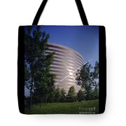 Corporate Woods Pie Building Tote Bag